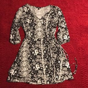 BeBop Faux Wrap Dress